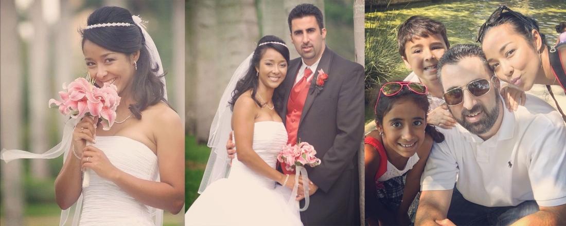 Carolina and Alex Gonzalez - wedding and family photos