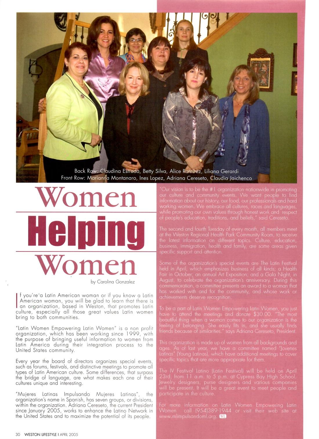 Article by Writer Carolina Gonzalez - CarolinasWords