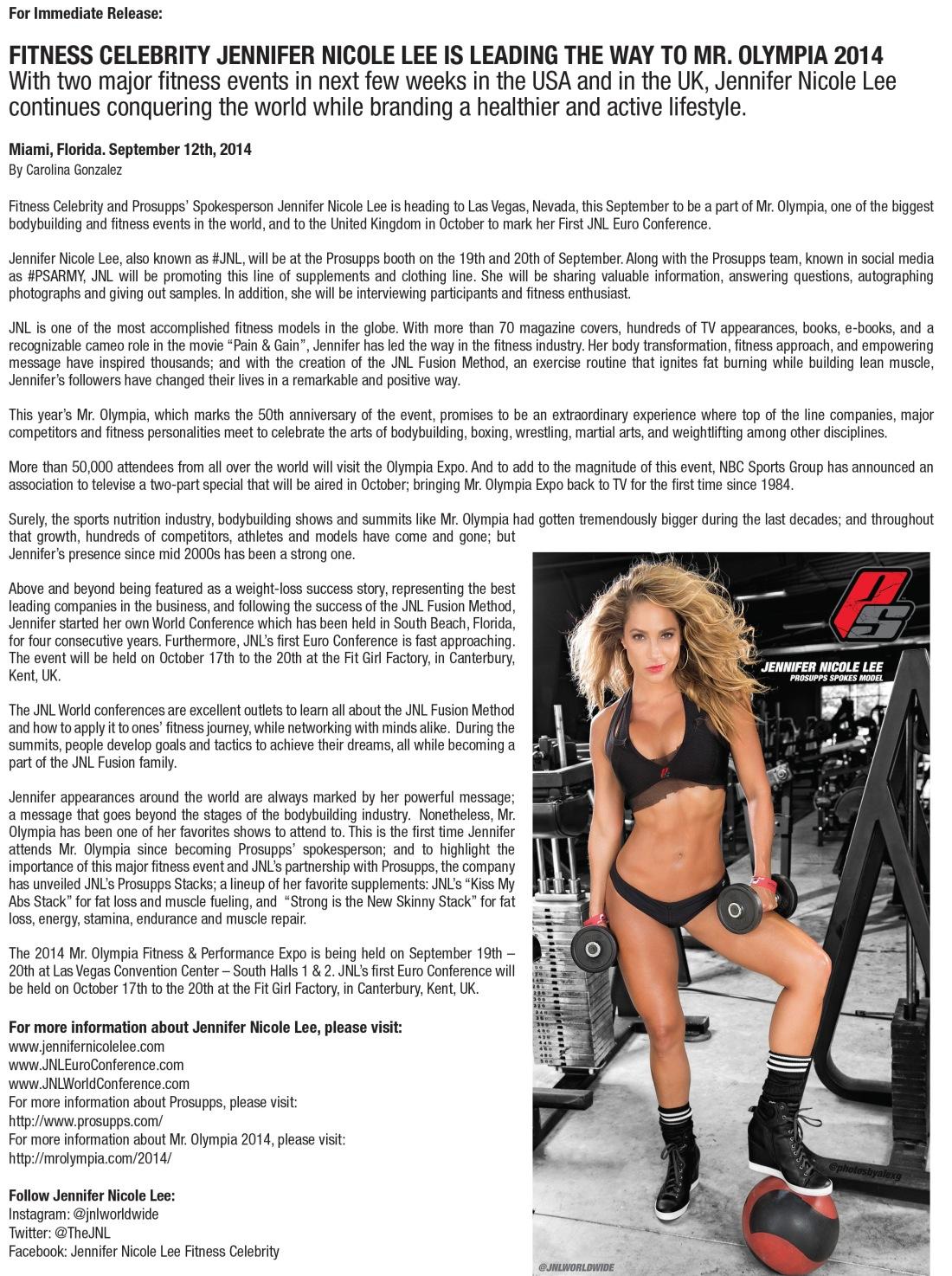 Press Release by Writer Carolina Gonzalez - CarolinasWords